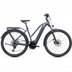 Bicicleta CUBE TOURING HYBRID PRO 500 TRAPEZE Metallicgrey Black
