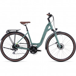 Bicicleta CUBE TOURING ONE EASY ENTRY Green Sharpgreen