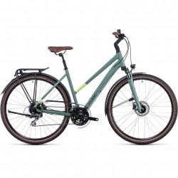 Bicicleta CUBE TOURING ONE TRAPEZE Green Sharpgreen