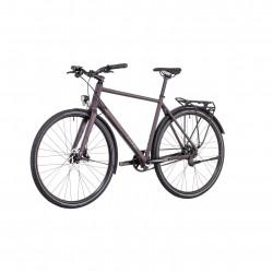 Bicicleta CUBE TRAVEL SL TRAPEZE Blackred Red