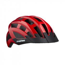 CASCA LAZER COMP DLX CE-CPSC/ BLACK RED UNISIZE +NET +LED