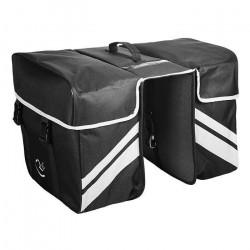 Geanta RFR Rear Carrier Bag Double black