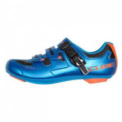 PANTOFI CICLISM CUBE ROAD PRO Blue Flashred