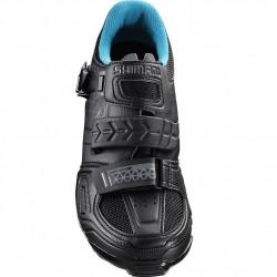 Pantofi SPD Shimano SH-WM64L Negru/Albastru 38