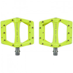 Pedale Cube RFR Flat Race Neon Yellow