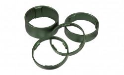 Set Distantieri Cube Aluminiu Verde