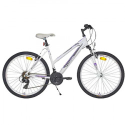 Bicicleta CROSS Julia 26'' - Alb/Mov 40/44/48 cm