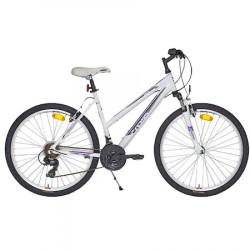Bicicleta CROSS Julia 26'' - Alb/Mov 40/44/48 cm