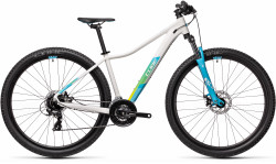 BICICLETA CUBE ACCESS WS White Blue