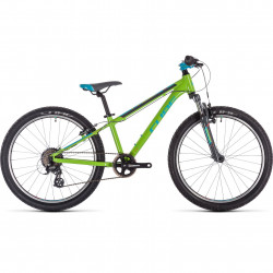 BICICLETA CUBE ACID 240 Green Blue Grey