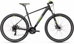 BICICLETA CUBE AIM Black Green