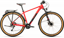 BICICLETA CUBE AIM SL ALLROAD RED BLACK