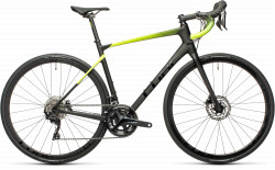 BICICLETA CUBE ATTAIN GTC RACE Carbon Flashyellow