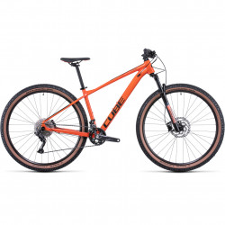 Bicicleta CUBE ATTENTION Burntorange Black