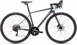BICICLETA CUBE AXIAL WS RACE Grey Mint