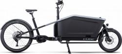 Bicicleta CUBE CARGO SPORT HYBRID 500 Flashgrey Black