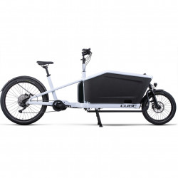 Bicicleta CUBE CARGO SPORT HYBRID 500 Flashwhite Black