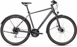 BICICLETA CUBE NATURE ALLROAD Iridium Black