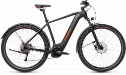 BICICLETA CUBE NATURE HYBRID ONE 500 ALLROAD Black Red