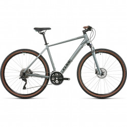 Bicicleta CUBE NATURE PRO Silvergreen Black