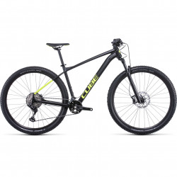 Bicicleta CUBE RACE ONE Black Flashyellow