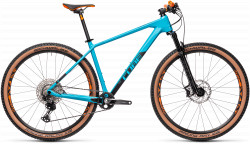 BICICLETA CUBE REACTION C:62 RACE Petrol Orange