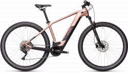 BICICLETA CUBE REACTION HYBRID ONE 500 29 Blushmetallic Grey
