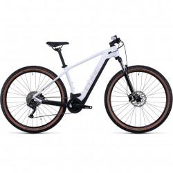 Bicicleta CUBE REACTION HYBRID ONE 500 White Grey