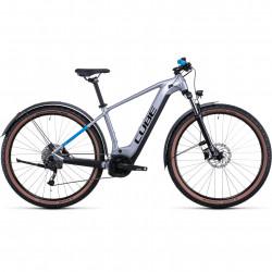 Bicicleta CUBE REACTION HYBRID PERFORMANCE 625 ALLROAD Polarsilver Blue