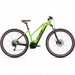 Bicicleta CUBE REACTION HYBRID PERFORMANCE 625 TRAPEZE Shinyapple Black