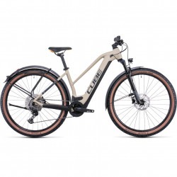 Bicicleta CUBE REACTION HYBRID PRO 625 ALLROAD TRAPEZE Desert Orange