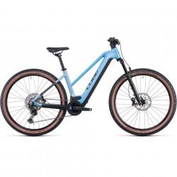 Bicicleta CUBE REACTION HYBRID SL 625/750 29 TRAPEZE Sagemetallic Silver