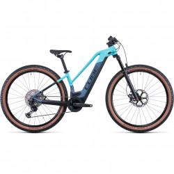 Bicicleta CUBE REACTION HYBRID SLT 625/750 29 TRAPEZE Denim Iceblue