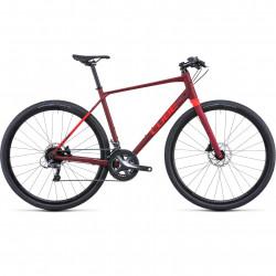 Bicicleta CUBE SL ROAD Darkred Red