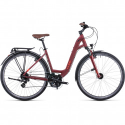 Bicicleta CUBE TOURING EASY ENTRY Darkred Red