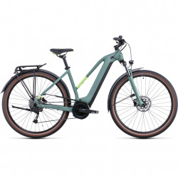 Bicicleta CUBE TOURING HYBRID ONE 400 TRAPEZE Green Sharpgreen