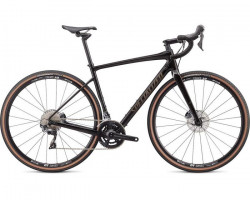Bicicleta SPECIALIZED Diverge Comp Gloss Carbon/Gunmetal Reflective Cleano 52