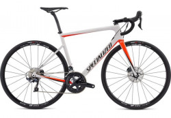 BICICLETA SPECIALIZED TARMAC SL6 COMP DISC SILVER RED 54cm