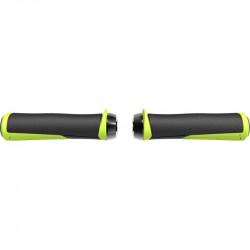 Mansoane BBB Cobra 142mm Negru/Galben Neon