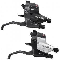 Set Manete Integrate Schimbator/Frana Shimano Acera ST-M390 3x9 V Argintiu