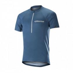 Tricou Alpinestars Elite S/S Jerdey Poseidon Blue/White