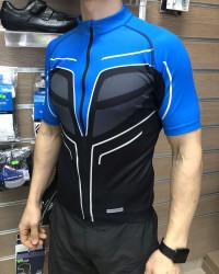 Tricou Shimano cu Maneca scurta Negru/Albastru