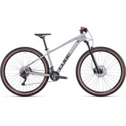 Bicicleta CUBE ACCESS WS RACE Oatgrey Raspberry
