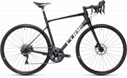 BICICLETA CUBE ATTAIN GTC SL Carbon White