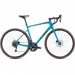 Bicicleta CUBE ATTAIN GTC SL Tealmetal Carbon
