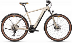 BICICLETA CUBE CROSS HYBRID PRO 625 ALLROAD Desert Orange