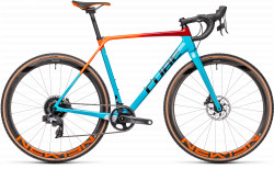 BICICLETA CUBE CROSS RACE C:62 SLT Blue Redfading