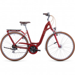Bicicleta CUBE ELLA RIDE EASY ENTRY Auburn Salmon