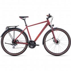 Bicicleta CUBE NATURE ALLROAD Darkred Red