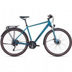 Bicicleta CUBE NATURE EXC ALLROAD Blue Blue